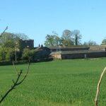 Harby Brow Pele Tower near Leesrigg Cottage