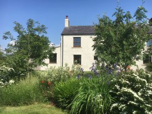 Rear view of Leesrigg Cottage Holiday Cottage
