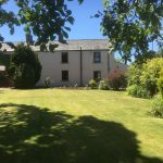 The Front Lawn at Leesrigg Cottage Holiday Cottage