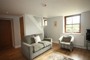 Holiday Cottage Lounge at Leesrigg Cottage