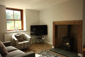 Comfortable Lounge at Leesrigg Cottage