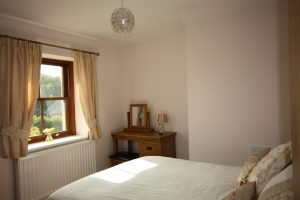 First Floor Double Bedroom at Leesrigg Cottage