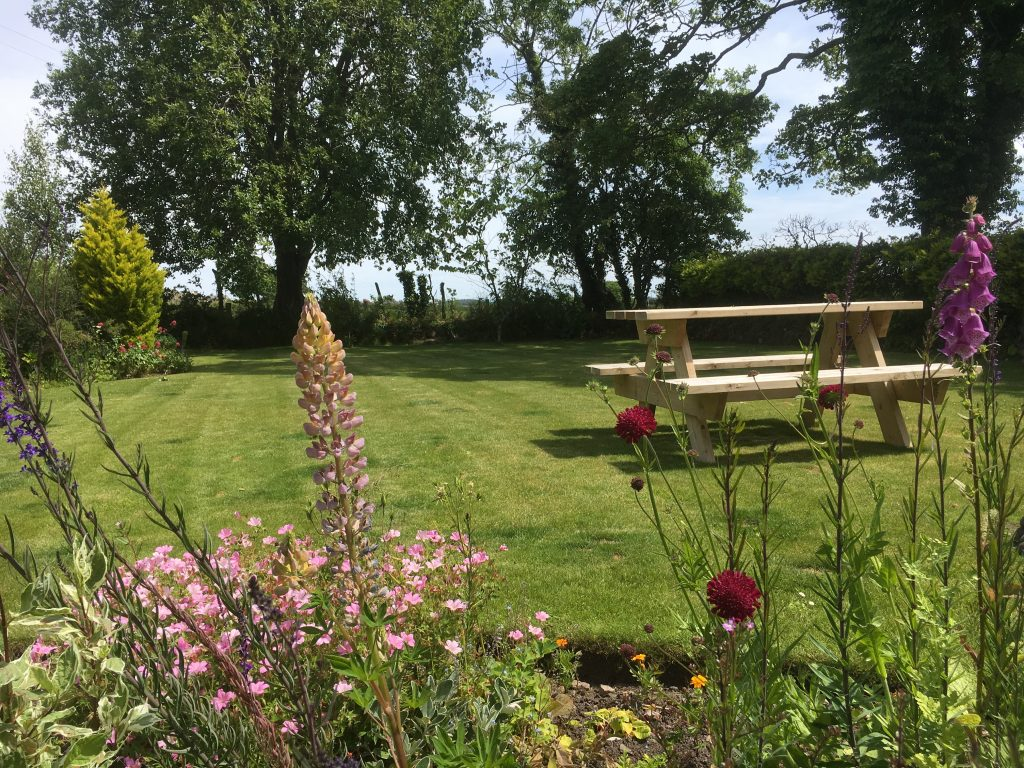 Contact us to book your stay and enjoy the use of this garden